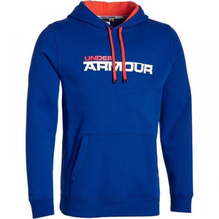 Pánská nepromokavá modrá mikina Under Armour