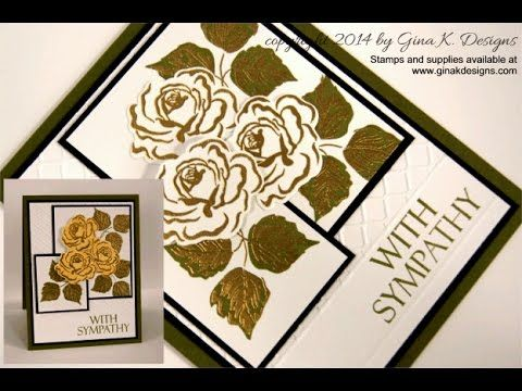 How to Create an Avery Label Tile Card with Deb Valder - YouTube