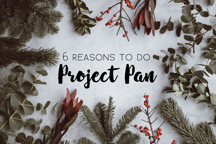 Thinking about participating in Project Pan? Here are 6 reasons why you totally should!