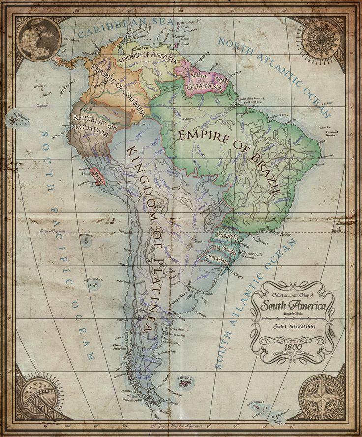 South America in an alternate XIX century