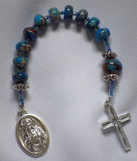 Our Lady of Carmel Rosary....Just sold on AllToolsPrayerful....more items similar to this.