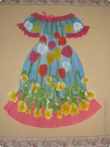 конце платье для весны из бумаги поделки картинки изобретения
