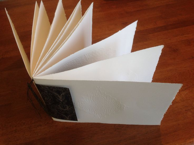Embossed journal. Michelle Achilles.
