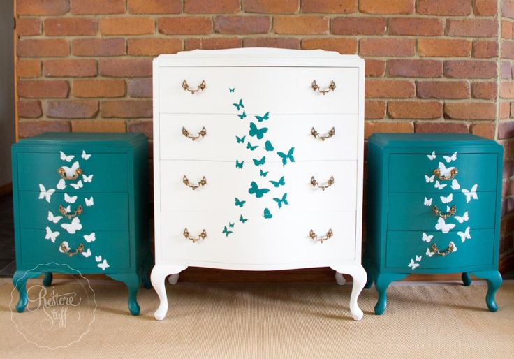 A Butterfly Bedroom Set & Introducing Frou-gal