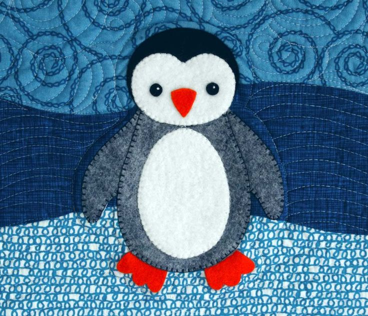 penguin quilt patterns | betz white: Polar Babies Quilt and Pillow