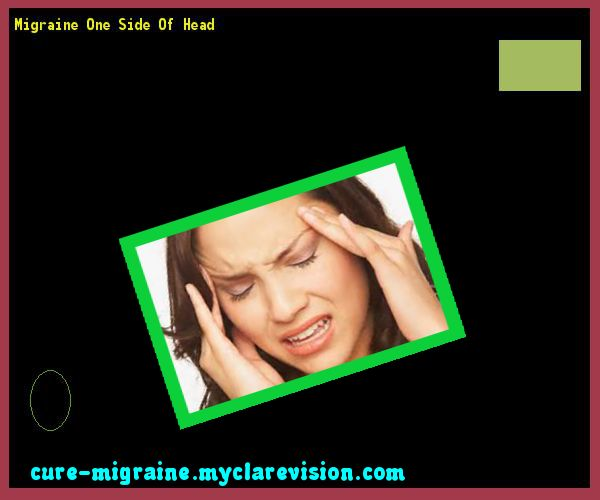 Migraine One Side Of Head 101825 - Cure Migraine