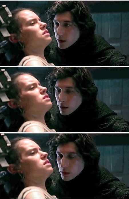 Kylo, stop checking her out. She kind of hates you right now.