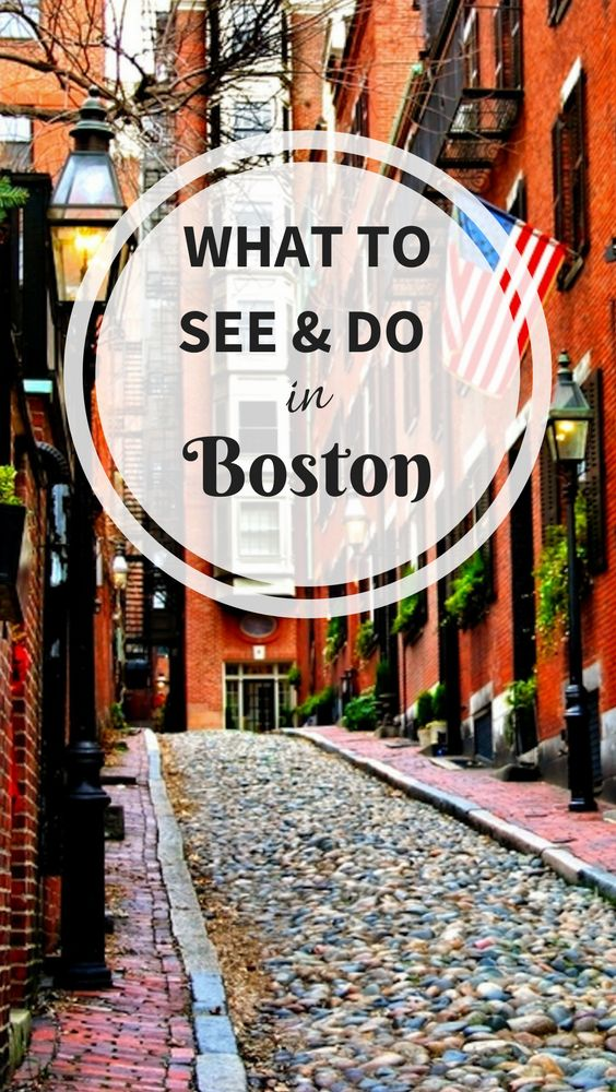 9 fun things to see and do on a Boston trip.