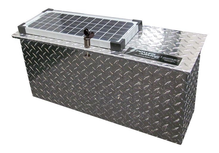 Protect and charge your batteries in Torklift's new solar lockable battery box