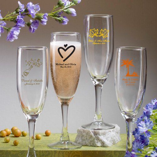 Champagne Flute - Nice Price Favors