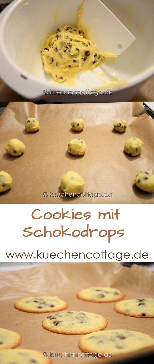 Cookies mit Schokodrops | Küchencottage…