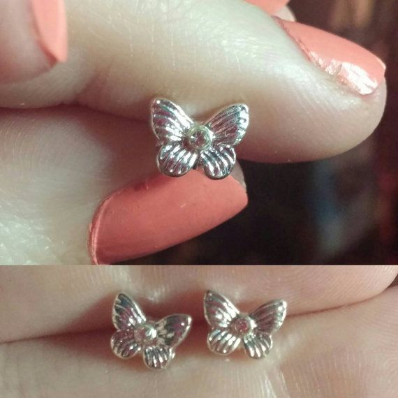 Check out this item in my Etsy shop https://www.etsy.com/ca/listing/472588577/sweet-butterfly-studs