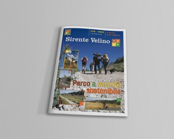 Magazine Sirente Velino News by Essenza Grafica , via Behance