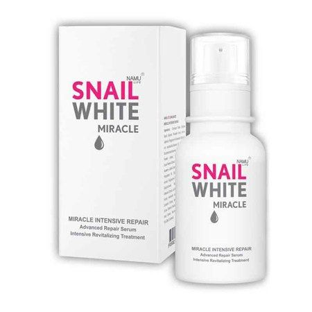 Snail white Miracle Intensive repair review