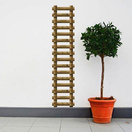 how to build ladder in mindecraft
