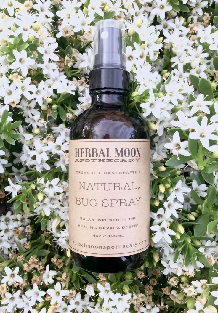 NATURAL BUG SPRAY • organic ingredients, all-natural, non-toxic • child safe and effective against mosquitos • 2oz glass bottle by HerbalMoonApothecary on Etsy https://www.etsy.com/listing/279266312/natural-bug-spray-organic-ingredients
