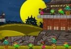 Um divertido jogo de puzzle. Você deve atirar as shurikens de forma correta para acertar os zumbis. Até que nível você consegue chegar?