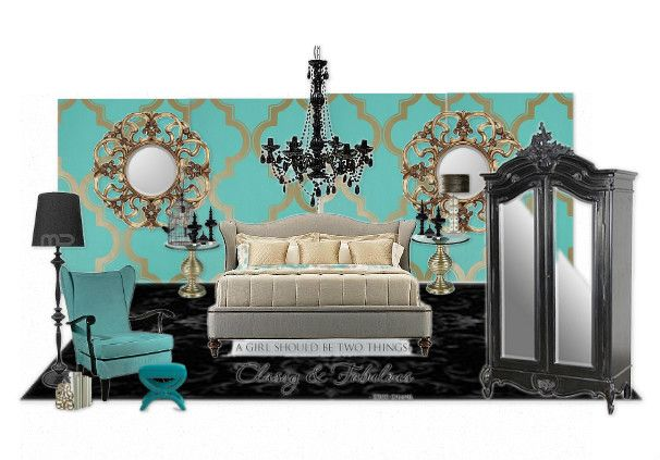 Port maquarie Tafe, Coco Chanel inspired room