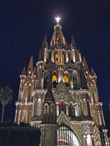 La Parroquia de San Miguel de Allende, Mexico