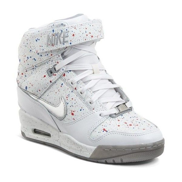 nike womens heel sneakers