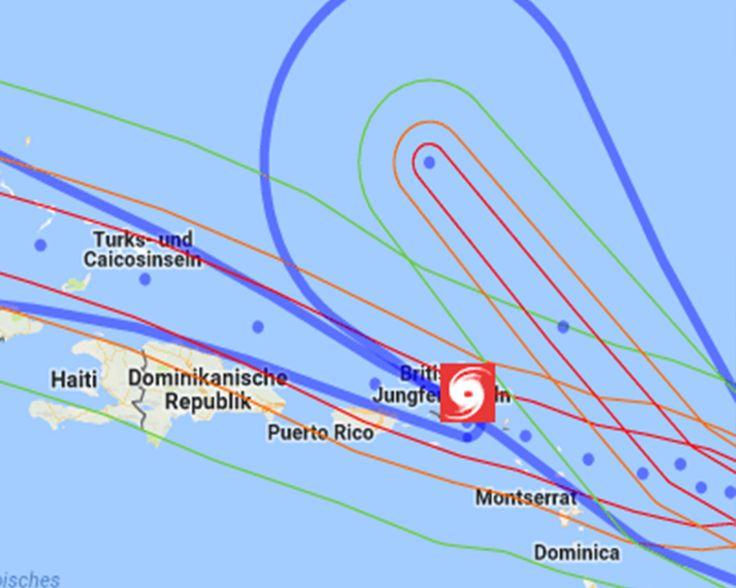 +++ Sonderinfo: Hurricane Irma +++ Hurricane Irma tobt bereits über den Amerikanischen und Britischen Jungferninseln. In den kommenden Tagen wird er weitere Karibikstaaten und Teile der USA bedrohen. Mehr dazu: https://news.unwetter24.net/sonderinfo-hurricane-irma/ #Hurricane #Hurrikan #Irma #Unwetter #Wetter #Bahamas #USA