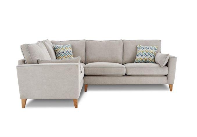 Furniture Village Glasgow lhf classic back corner sofa - copenhagen - gorgeous living room