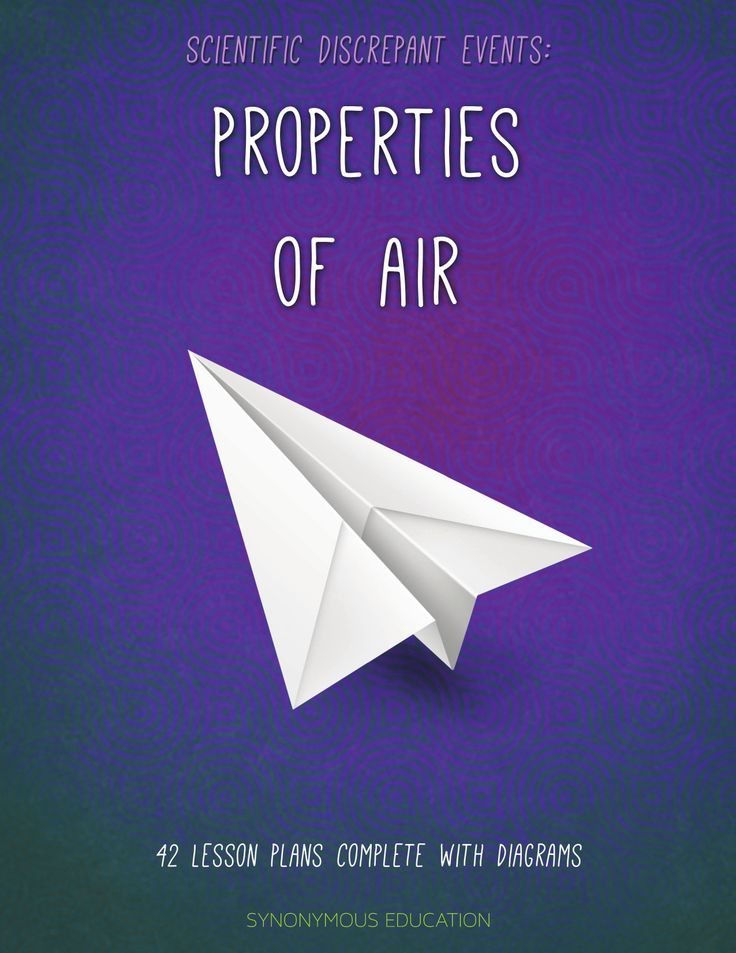 Properties of Air Science Discrepant Events Resource Preview