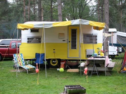 Vintage Layton Travel Trailer Camper Vintage Travel