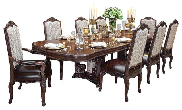 Modern Dinner Table Set For Your Home Victoria Palace 10 Piece Dining Table Set Victoria Dining Room Table Set Modern Dinner Table Set Kitchen Table Settings 10 piece dining room sets
