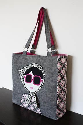 The Laura Tote Bag PDF Sewing Pattern