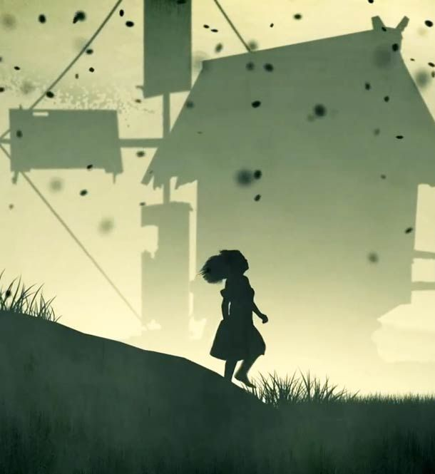 """Babe's Lair"", a dark and beautiful animated music video in silhouette shadow plays that strongly reminds the scary atmosphere of the Limbo video game. A gre"