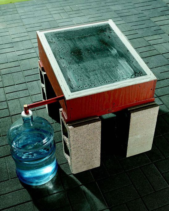 How to Make a Solar Water Distiller to Purify Water
