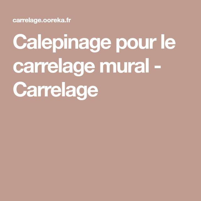 Calepinage Pour Le Carrelage Mural Carrelage Parement Mural Carrelage Mural Carrelage