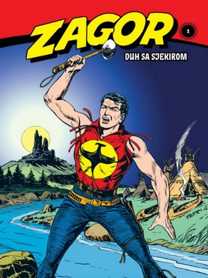 Zagor - Duh sa sjekirom ( Ceo strip u boji )