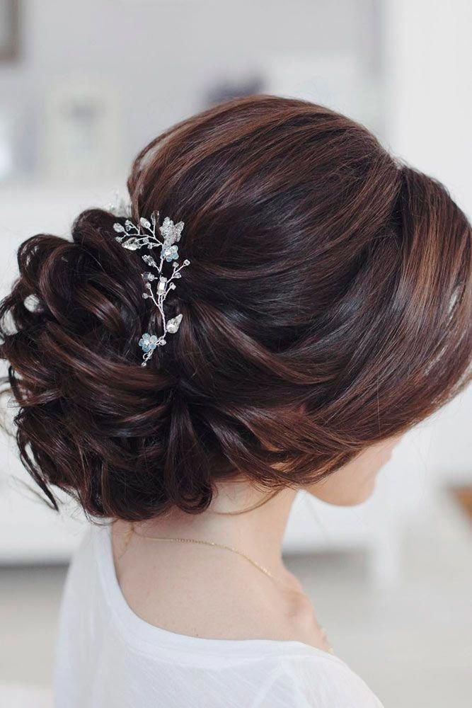 Wedding hairstyles for long hair are huge in number, which makes it ...