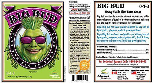 Advanced Nutrients Big Bud Liquid 1 Liter bloom booster