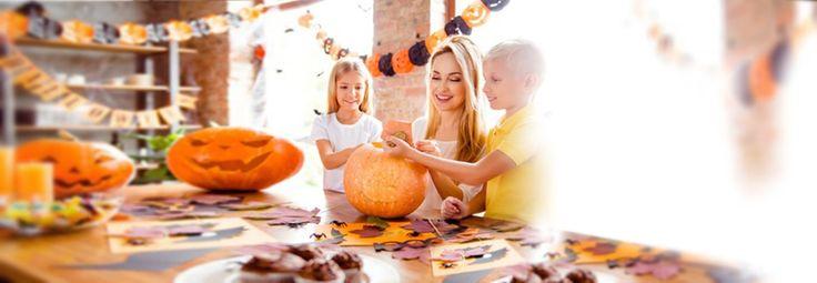 Halloween Basteln mit kronjuwelen.com