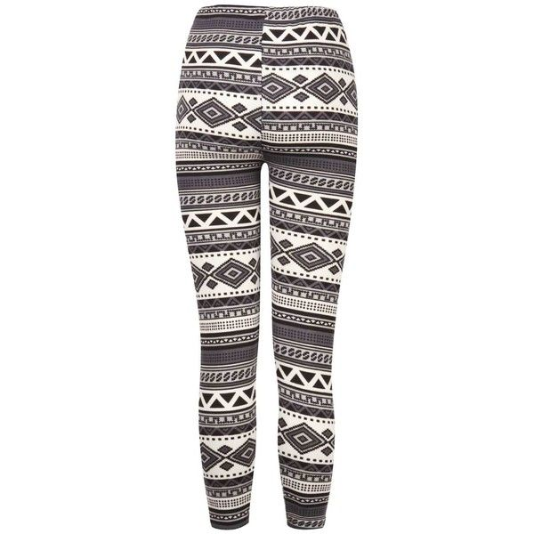Black Aztec Print Leggings ($10) ❤ liked on Polyvore featuring pants, leggings, aztec print pants, aztec-print leggings, aztec pattern leggings, legging pants and aztec pants