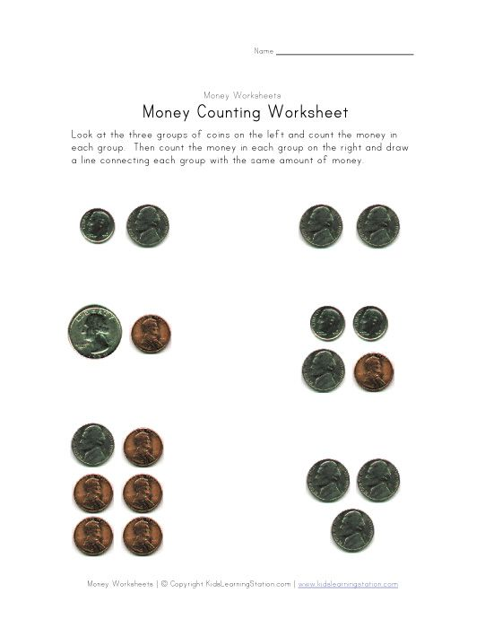1000+ images about math on Pinterest | Coins, Money worksheets and ...