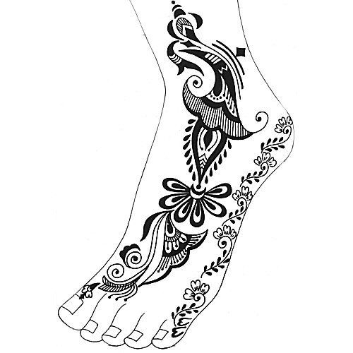 Arabic Henna Designs (63 Pages )