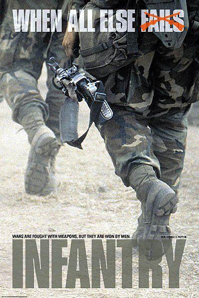 I love my Infantryman