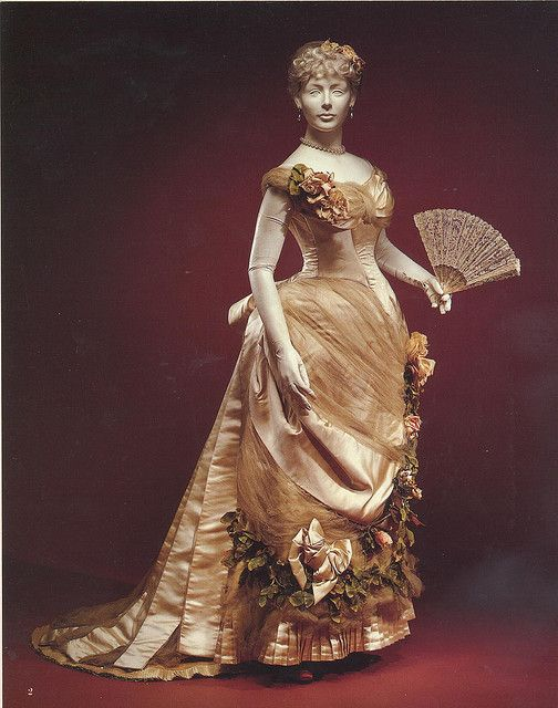 "1882 Worth Ball Gown    		From ""The Opulent Era-Fashions of Worth, Doucet and Pingat""by Elizabeth Ann Coleman"