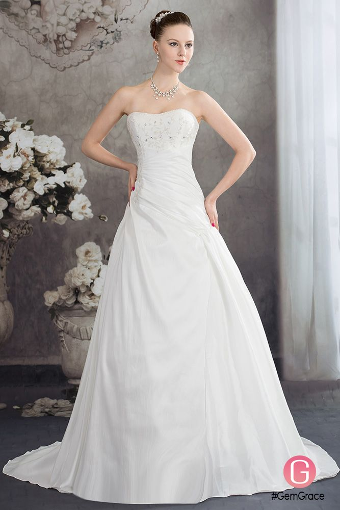 73 best Princess Ball Gown Wedding Dresses images on Pinterest