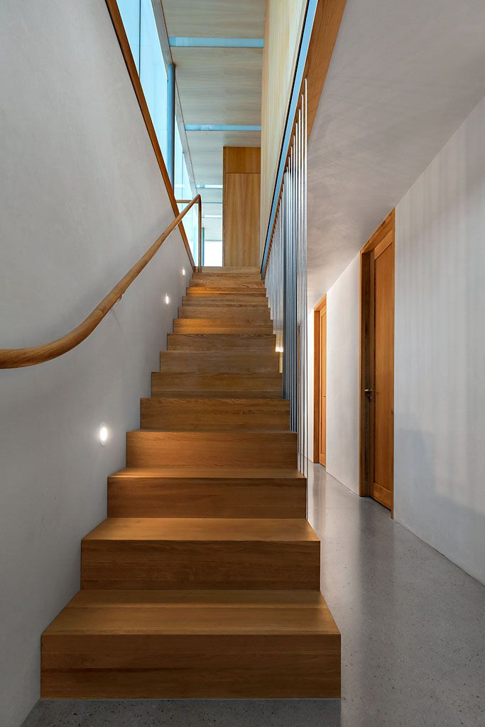 Solid oak steps