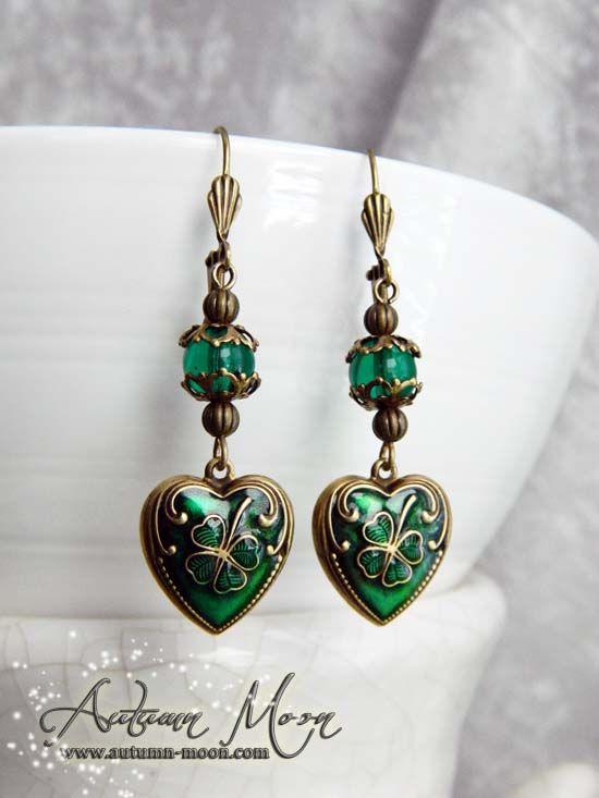 Irish Hearts Earrings