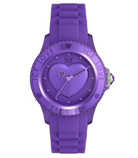 Ice-Watch LOLRUS11 Unisex Ice-Love Lavender Polycarbonate Silicone Strap Watch