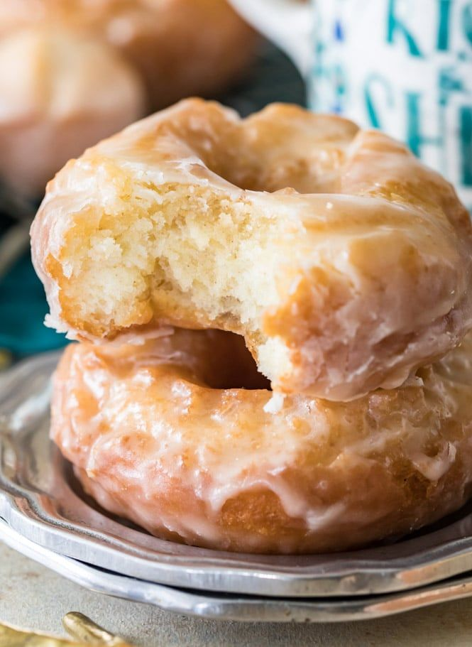 How To Make Sour Cream Donuts These Are Easy Fried Donuts Made Without Yeast Eve Sour Cream Donut Homemade Donuts Recipe Homemade Donut Recipe Without Yeast