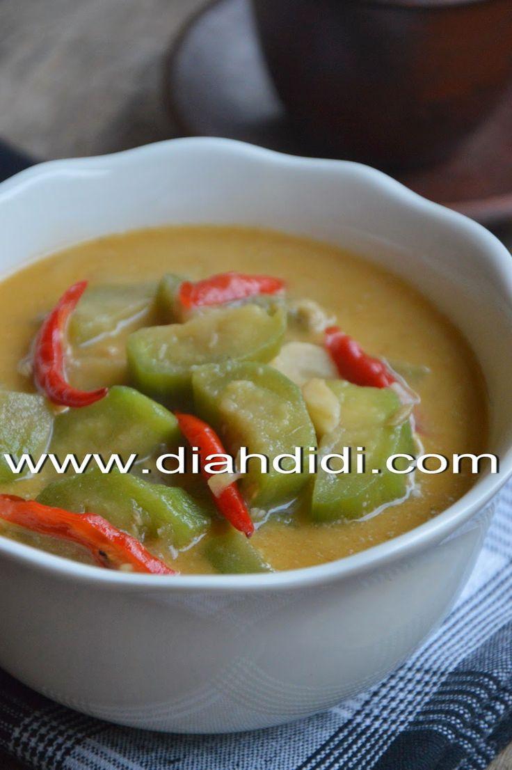 Diah Didi's Kitchen: Lodeh Terong Bumbu Iris