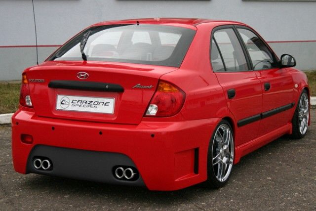 Hyundai Accent 2005 tuning