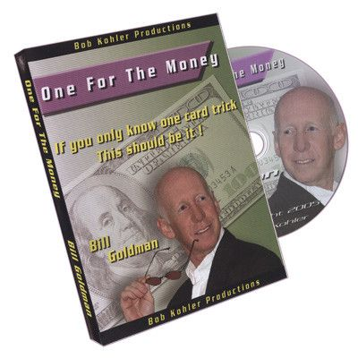 One for The Money by Bill Goldman - DVD